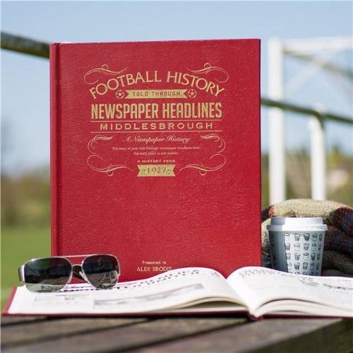Personalised Middlesbrough Football Book